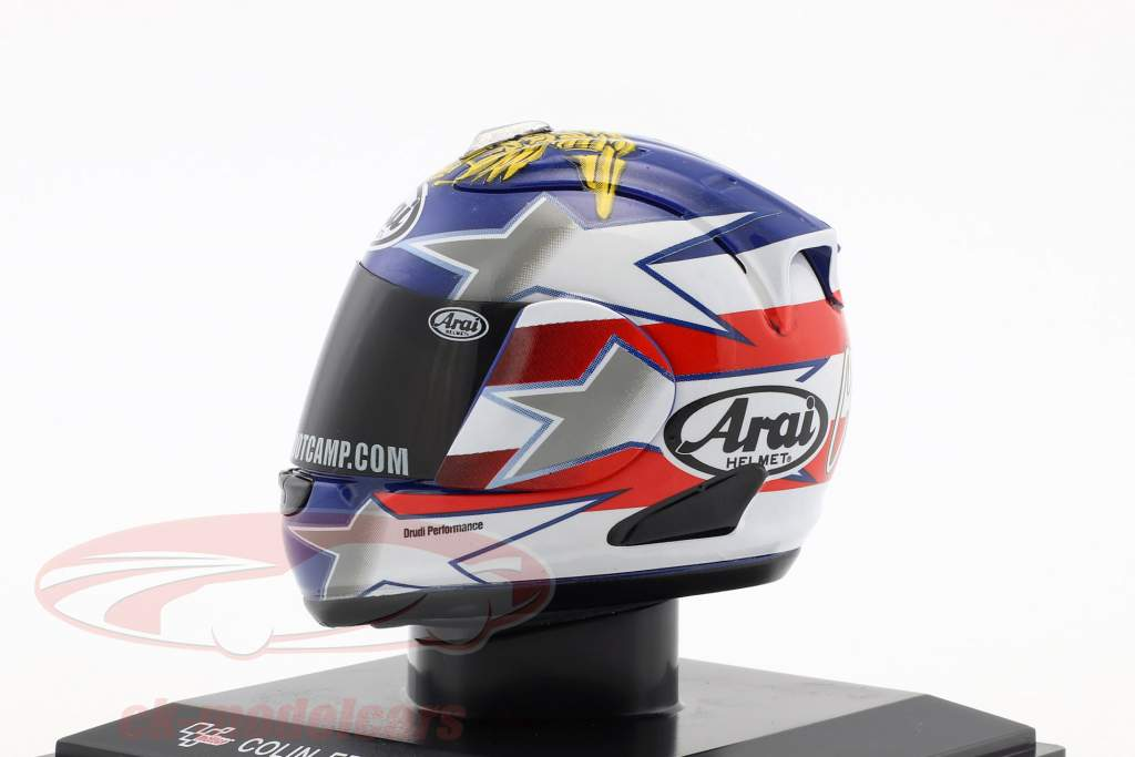 Colin Edwards MotoGP 2012 casco 1:5 Altaya
