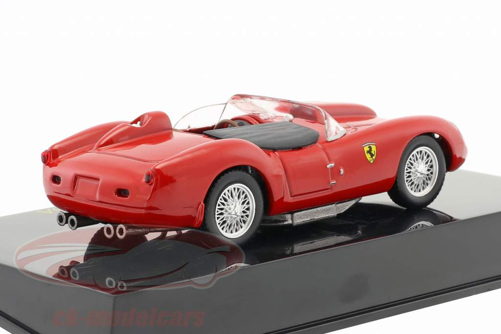 Ferrari 250 Testa Rossa red 1:43 with showcase 1:43 Altaya