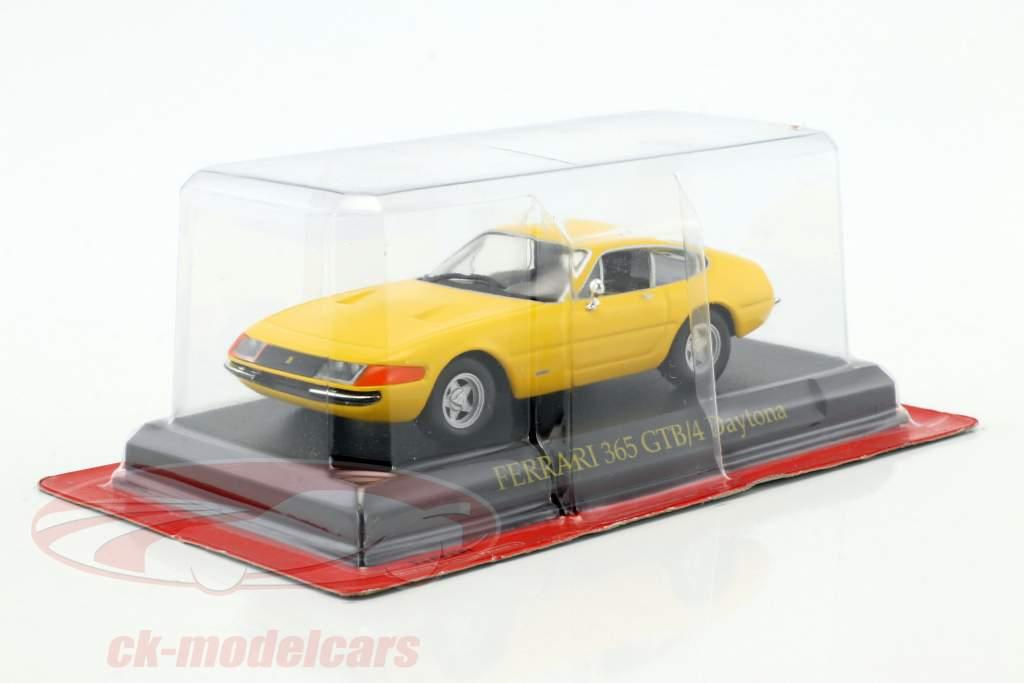 Ferrari 365 GTB/4 Daytona yellow 1:43 Altaya