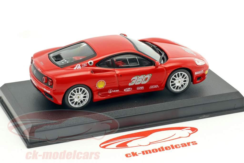 Ferrari 360 GT rosso 1:43 Altaya