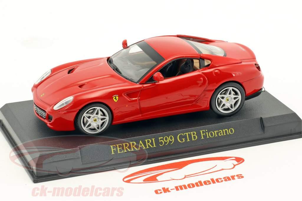 Ferrari 599 GTB Fiorano red 1:43 Altaya