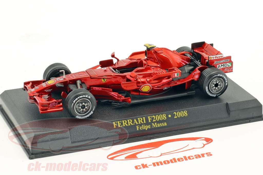 Felipe Massa Ferrari F2008 #2 formula 1 2008 1:43 Altaya
