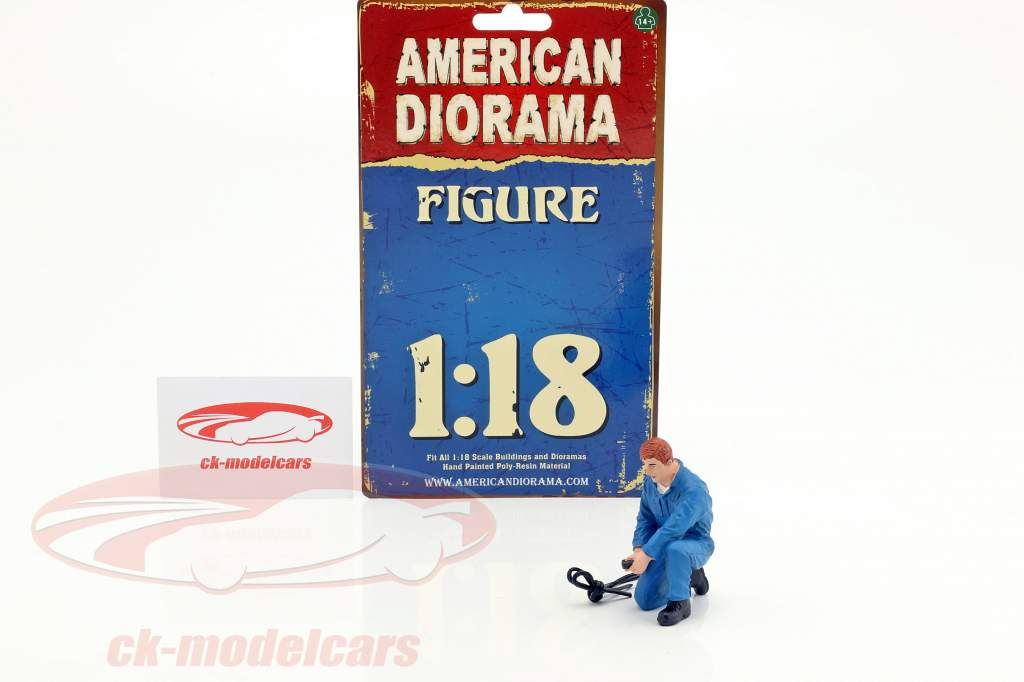 meccanico Tony cifra 1:18 American Diorama