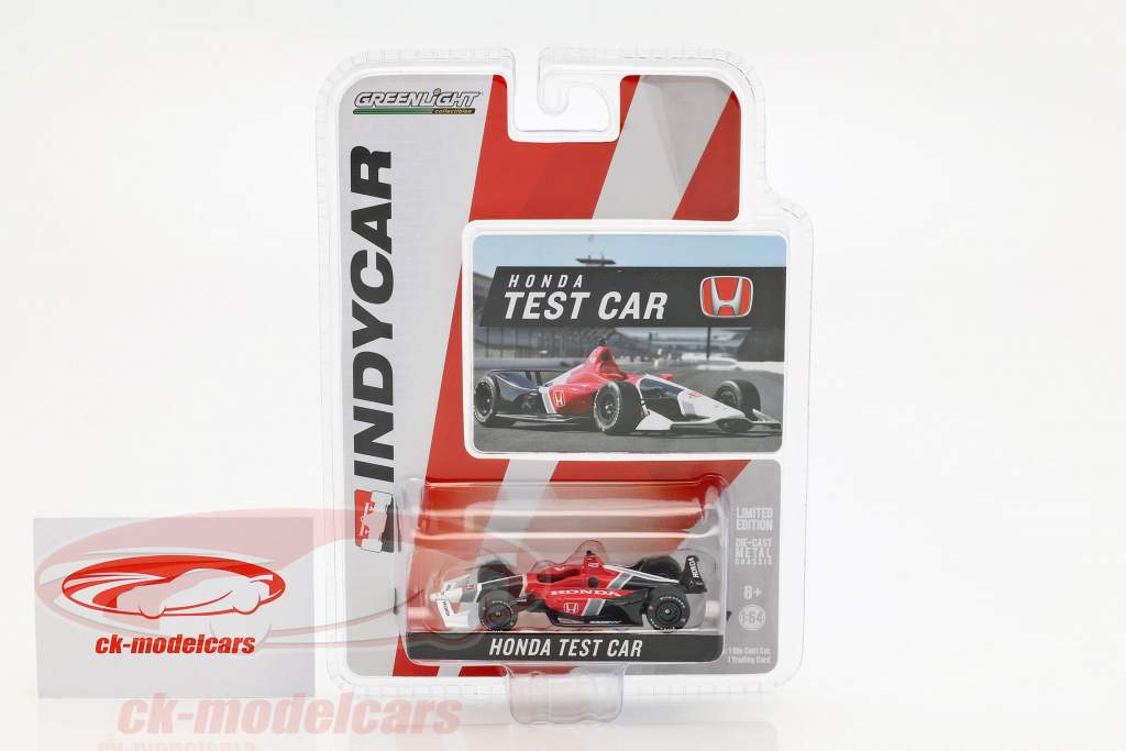 Honda Dallara Aerokit Test Car IndyCar Series 2018 1:64 Greenlight