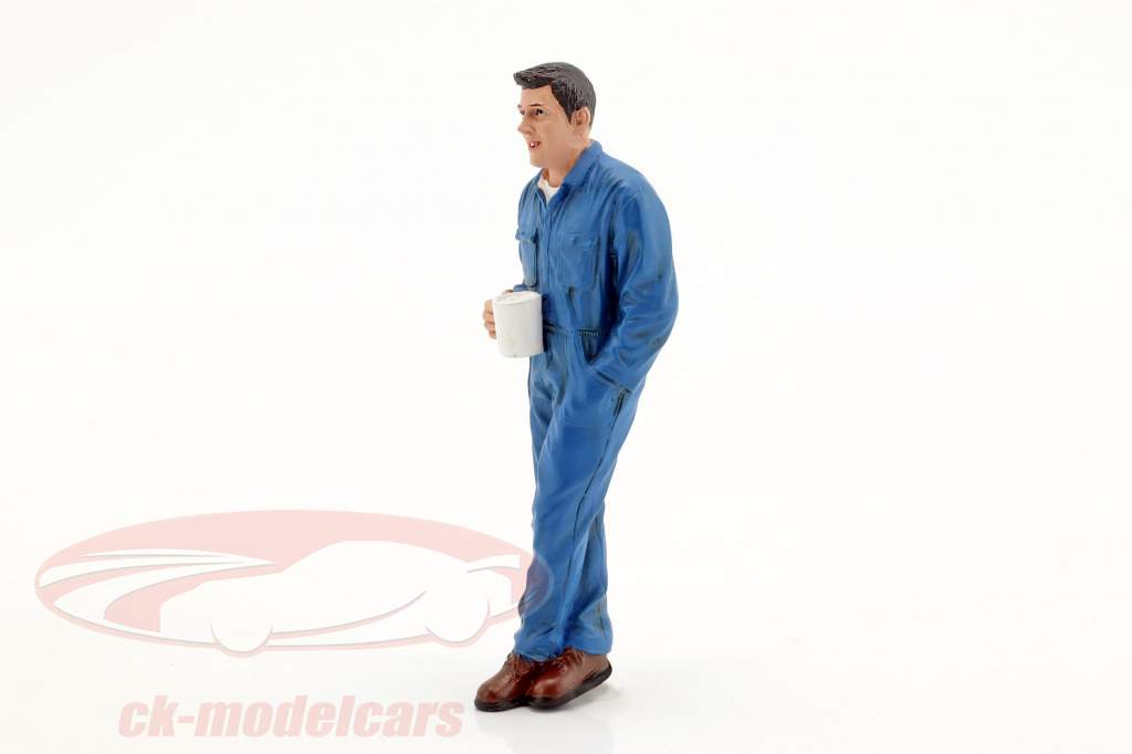 mechanic Larry figure 1:18 American Diorama