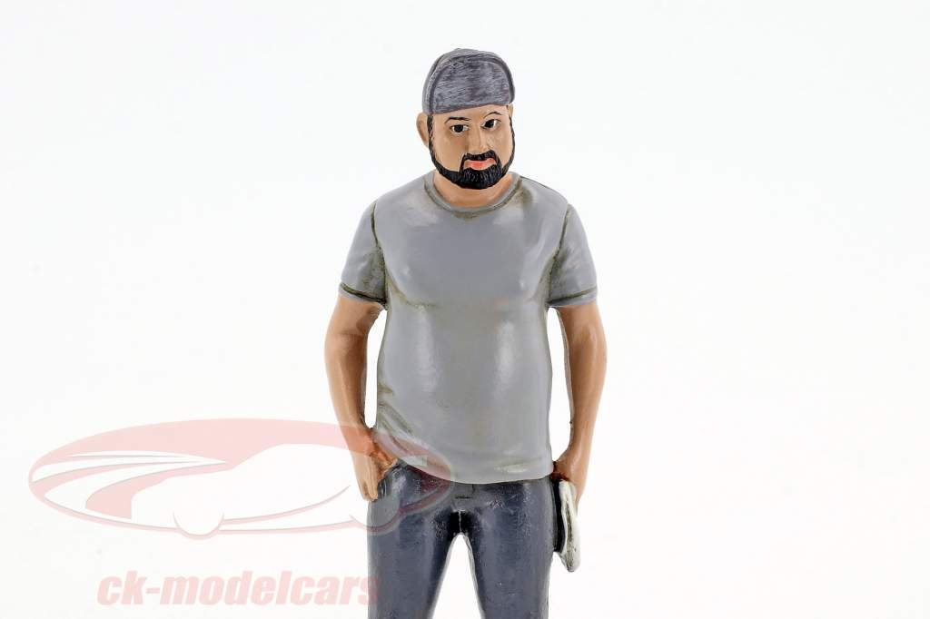 Hot Rodder Robert figure 1:18 American Diorama