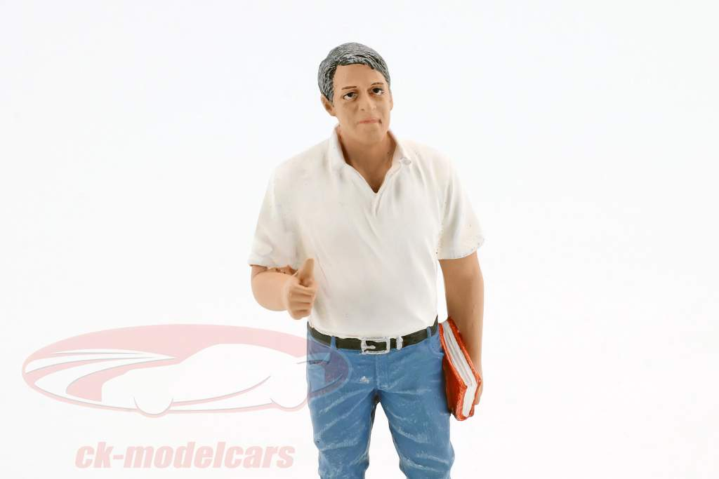Mechaniker Manager Tim Figur 1:18 American Diorama