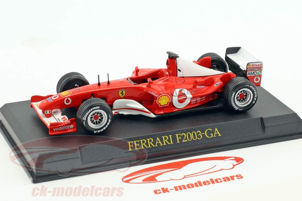 M. Schumacher Ferrari F2003-GA #1 champion du monde formule 1 2003 1:43 Altaya