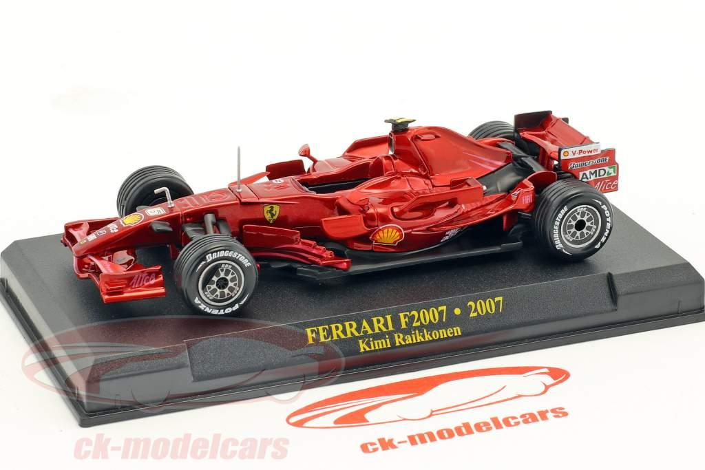 Kimi Räikkönen Ferrari F2007 #6 champion du monde formule 1 2007 1:43 Altaya