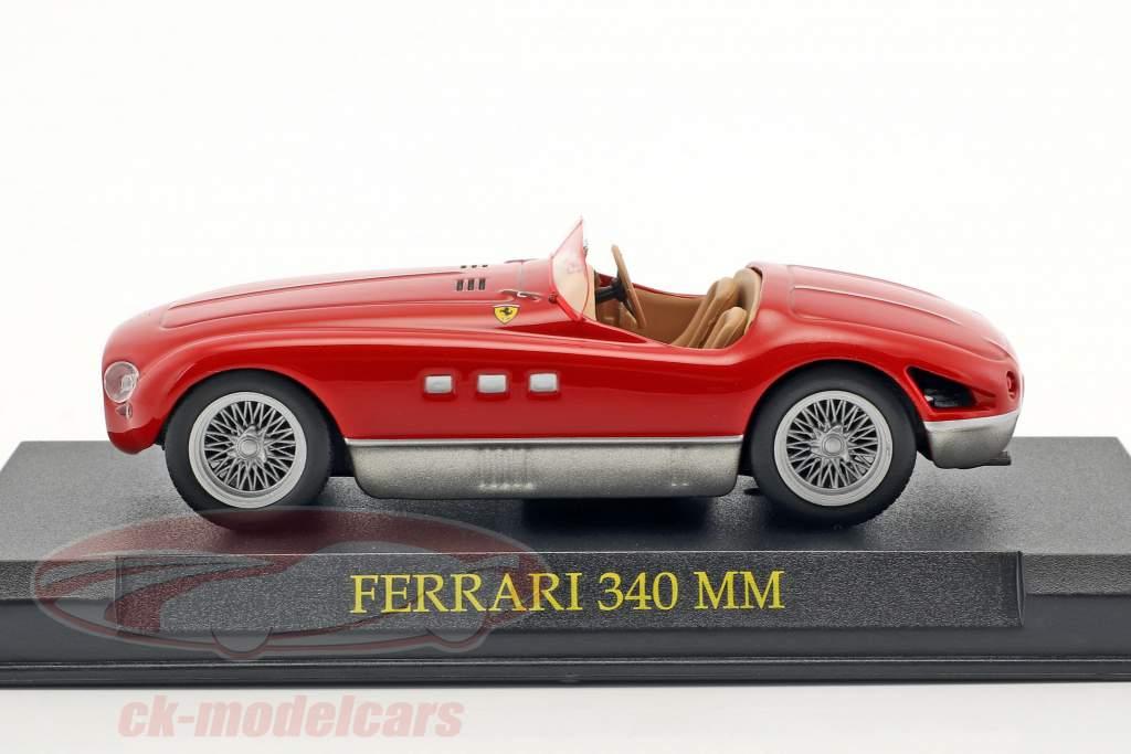 Ferrari 340 MM rot 1:43 Altaya