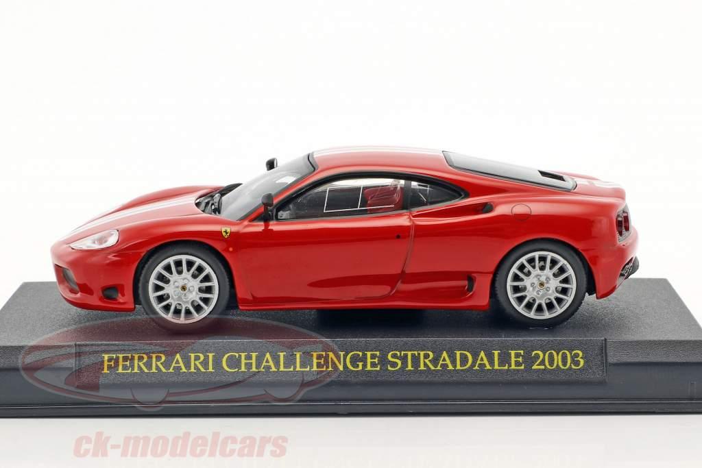 Ferrari Challenge Stradale 2003 red 1:43 Altaya
