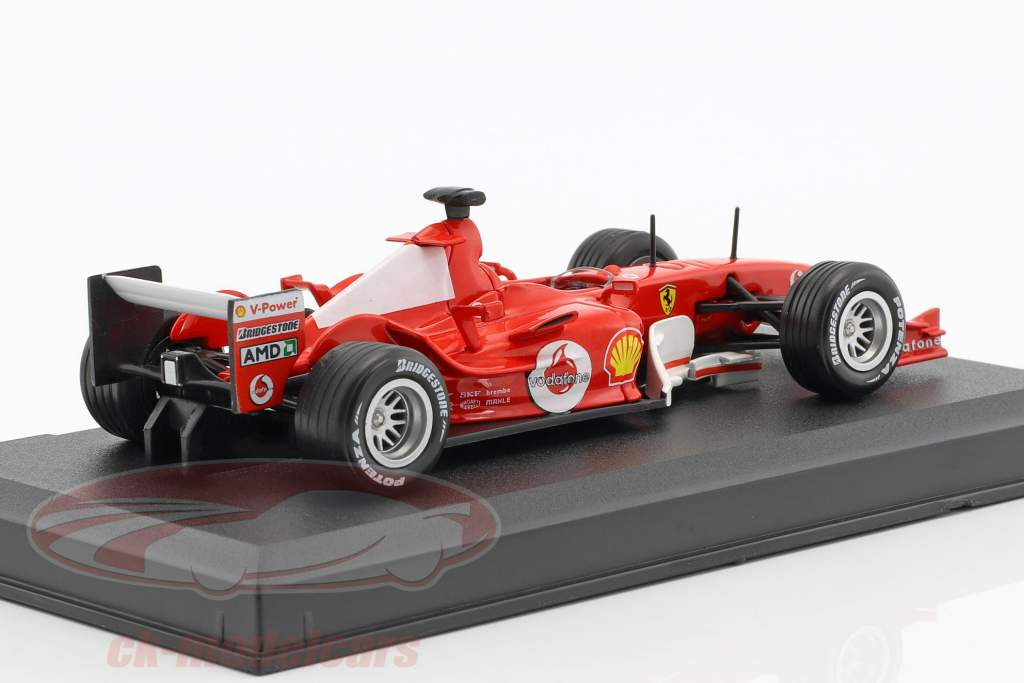 Michael Schumacher Ferrari F2004 #1 campione del mondo formula 1 2004 1:43 Altaya