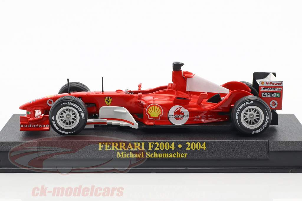Michael Schumacher Ferrari F2004 #1 world champion formula 1 2004 1:43 Altaya