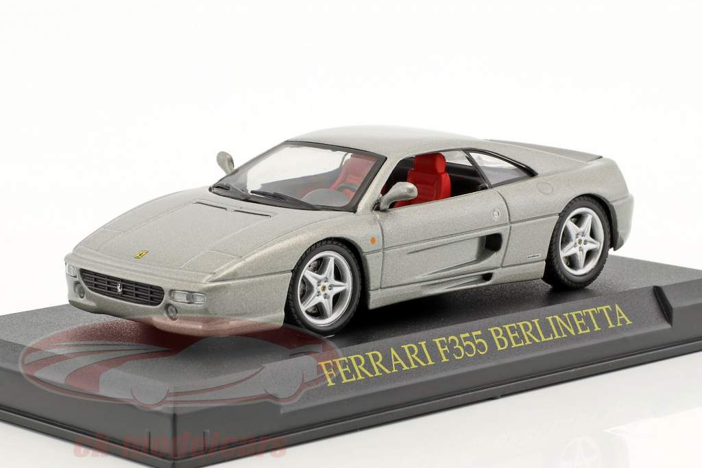 Ferrari F355 Berlinetta silver 1:43 Altaya