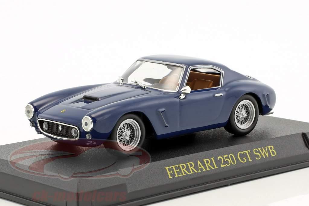 Ferrari 250 GT SWB blu scuro 1:43 Altaya