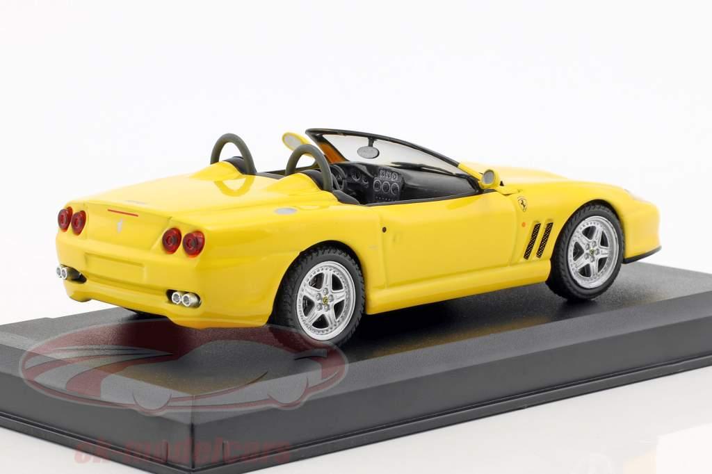 Ferrari 550 Barchetta Pininfarina giallo 1:43 Altaya