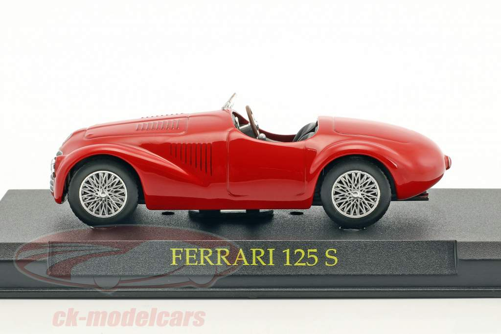 Ferrari 125S rouge 1:43 Altaya