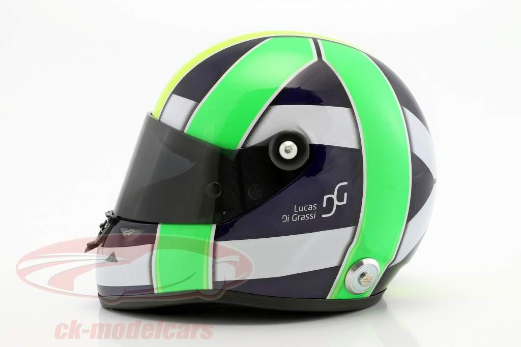 Lucas di Grassi World Champion FIA-Formel E 2017 helmet 1:2 Schuberth