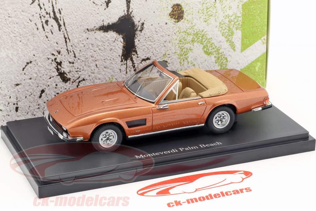 Monteverdi Palm Beach anno di costruzione 1974 abbronzatura metallico 1:43 AutoCult