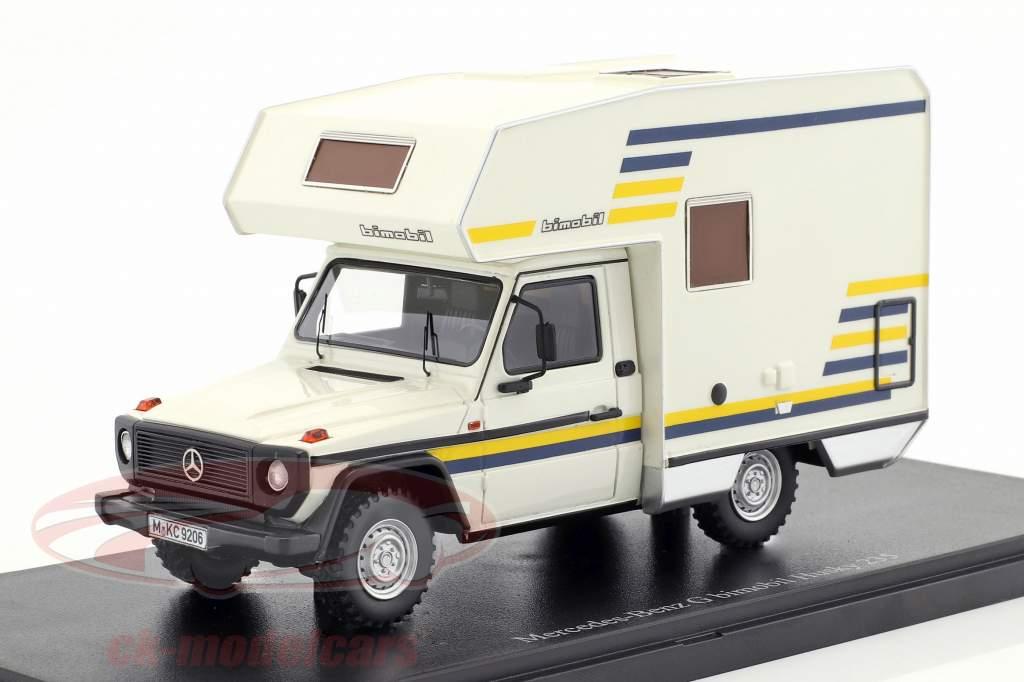 Mercedes-Benz G bimobil Husky Baujahr 1984 weiß 1:43 AutoCult