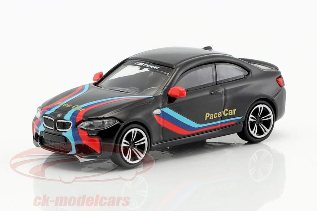 BMW M2 Pace Car 2016 black 1:87 Minichamps