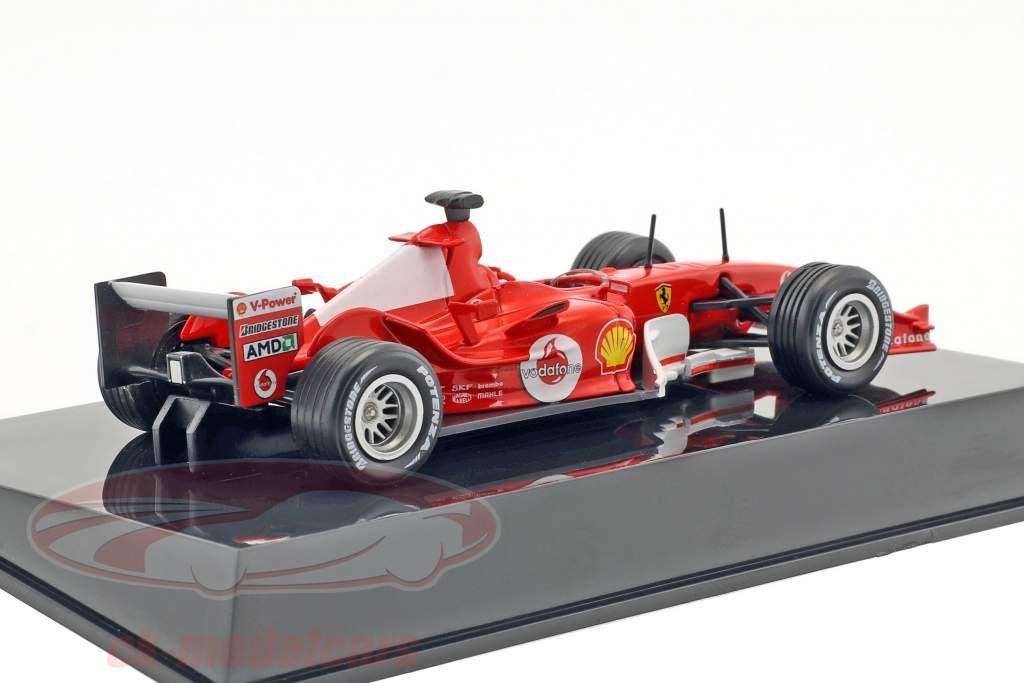 Michael Schumacher Ferrari F2004 #1 world champion F1 2004 With Showcase 1:43 Altaya