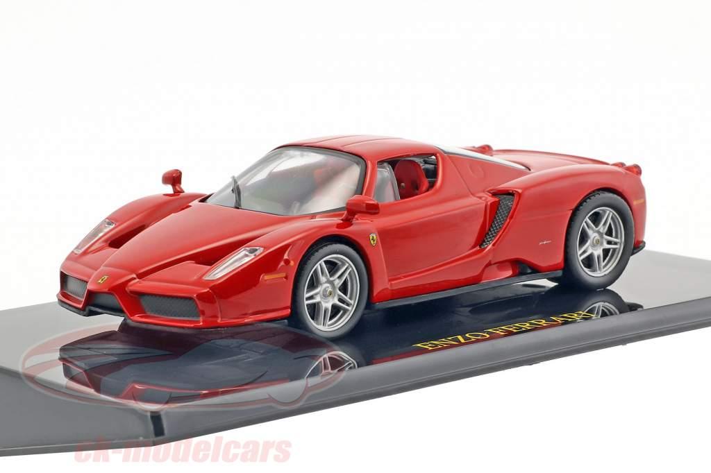 Ferrari Enzo rosso con vetrina 1:43 Altaya