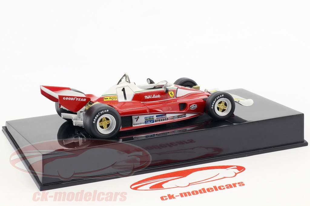 Niki Lauda Ferrari 312T2 #1 formula 1 1976 with showcase 1:43 Altaya