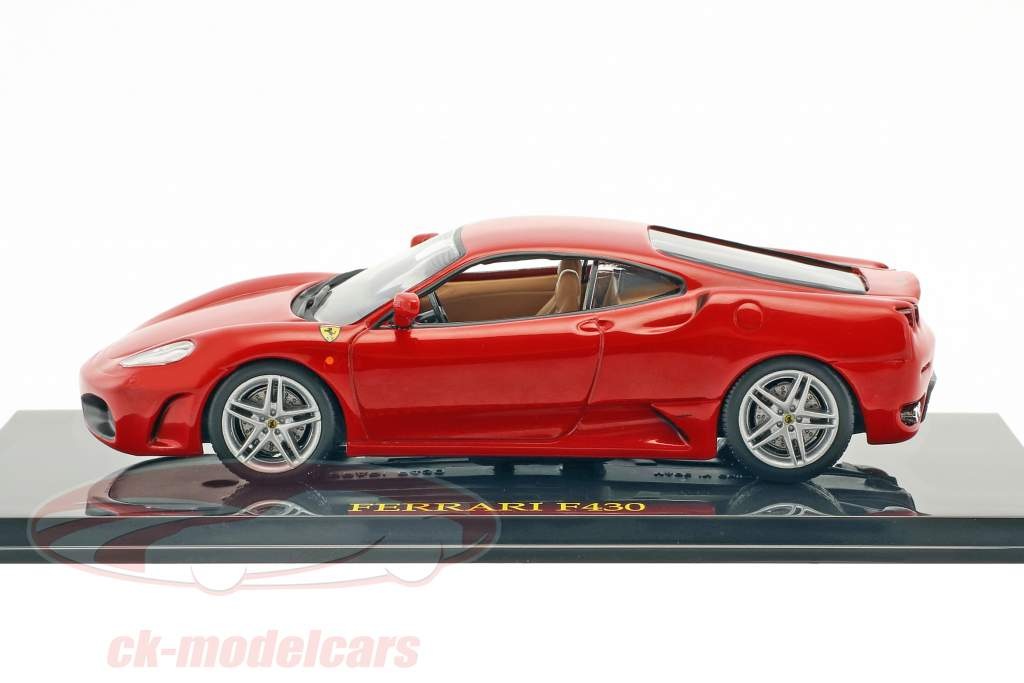 Ferrari F430 red with showcase 1:43 Altaya