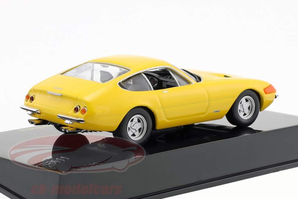 Ferrari 365 GTB/4 Daytona giallo con vetrina 1:43 Altaya