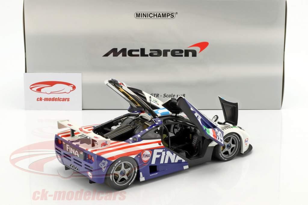 McLaren F1 GTR #39 24h LeMans 1996 Piquet, Cecotto, Sullivan 1:18 Minichamps