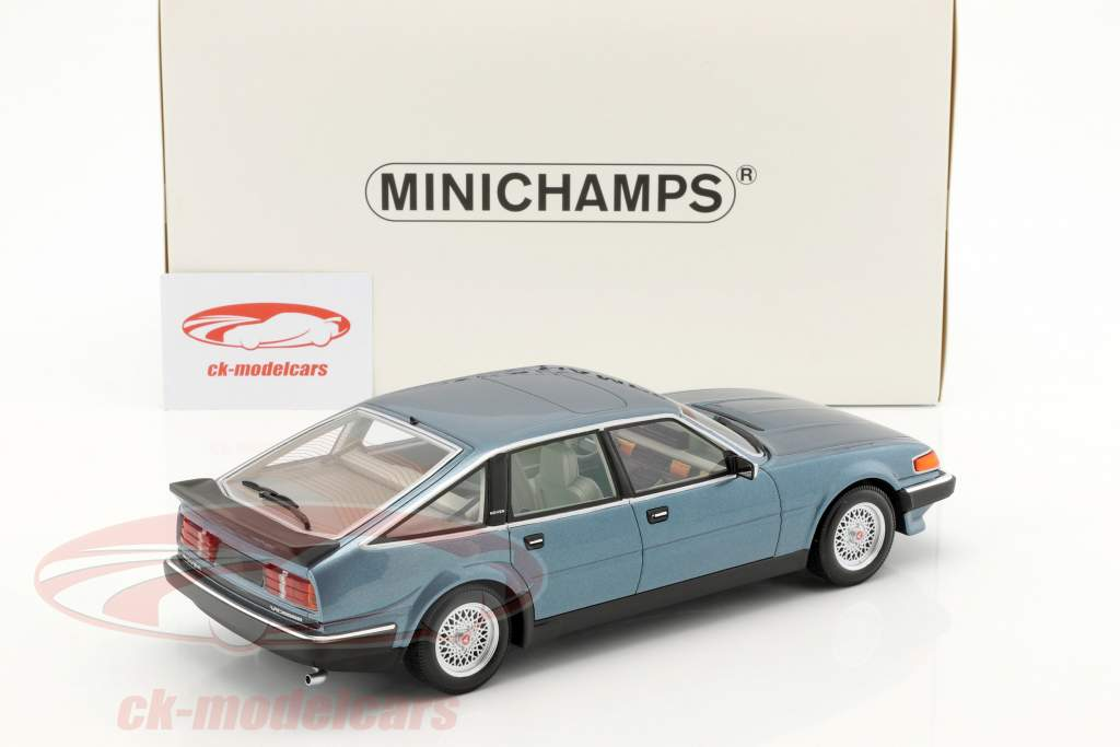 Rover Vitesse 3.5 V8 Construction year 1986 blue metallic 1:18 Minichamps