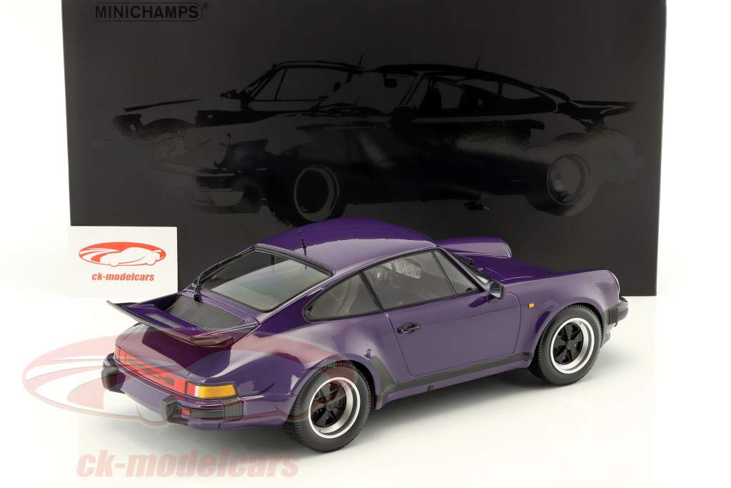 Porsche 911 (930) Turbo année de construction 1977 pourpre 1:12 Minichamps