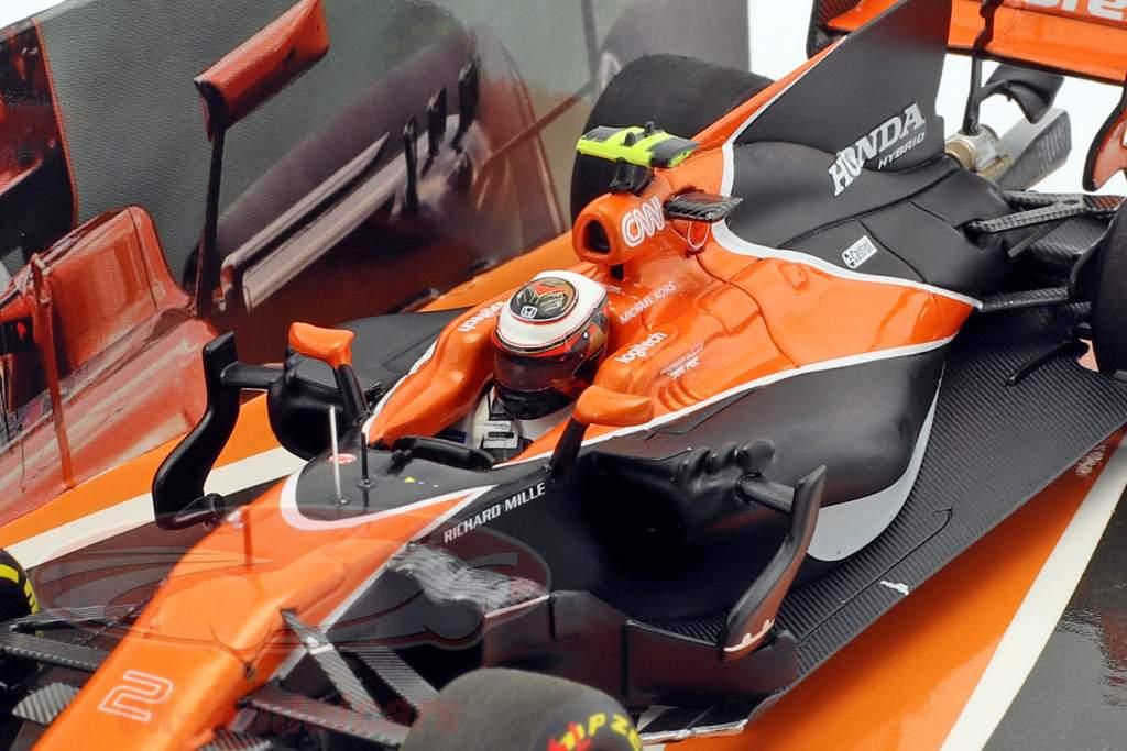 Stoffel Vandoorne McLaren MCL32 #2 Australie GP formule 1 2017 1:43 Minichamps