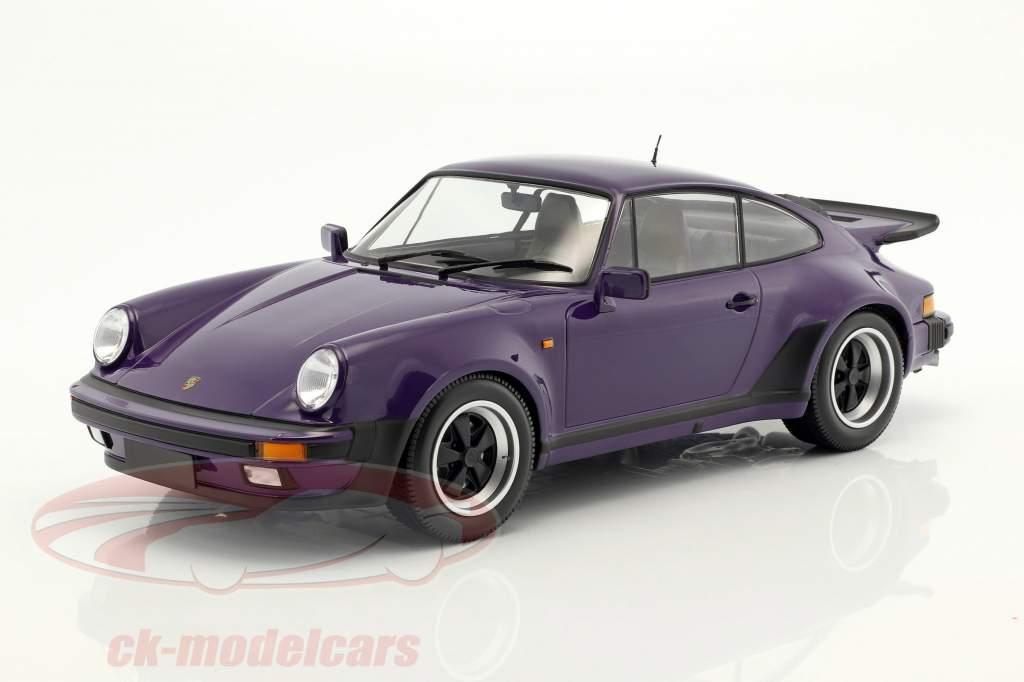 Porsche 911 (930) Turbo year 1977 purple 1:12 Minichamps