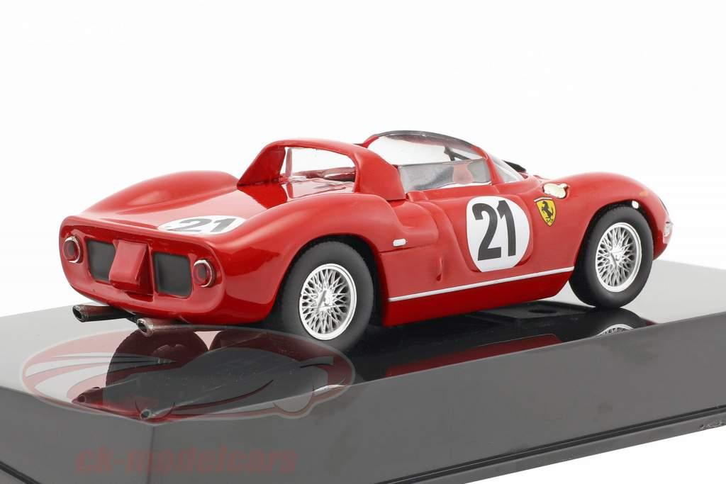 Ferrari 250P #21 Winner 24h LeMans 1963 Scarfiotti, Bandini 1:43 with Altaya showcase