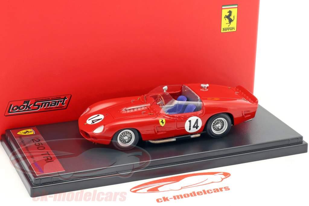Ferrari 250TRI/61 #14 Winner 12h Sebring 1961 Hill, Gendebien 1:43 LookSmart
