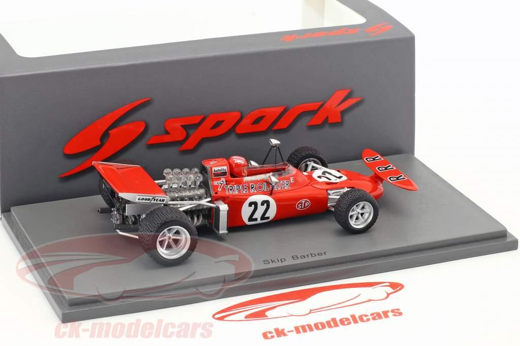 Skip Barber March 711 #22 Netherlands GP formula 1 1971 1:43 Spark