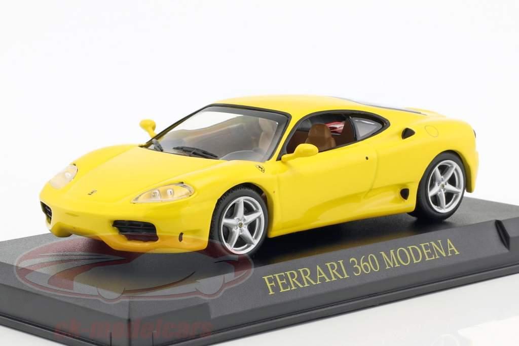 Ferrari 360 Modena gelb 1:43 Altaya