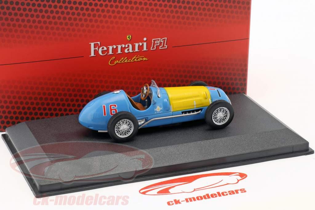 Juan Manuel Fangio Ferrari 166FL #16 formule 1 1949 1:43 Atlas