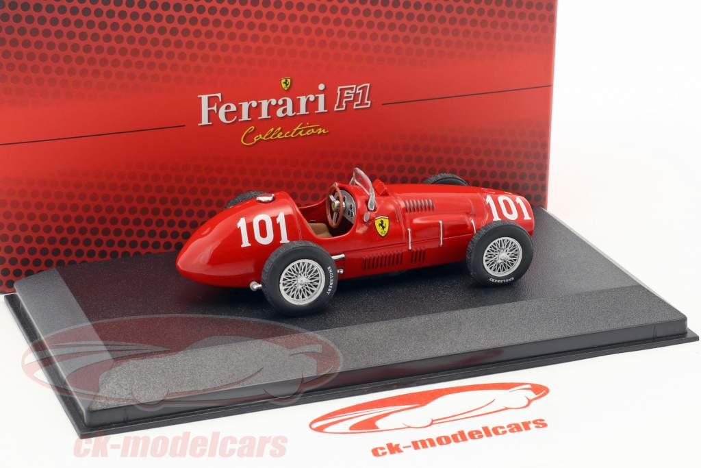 Alberto Ascari Ferrari 500 F2 #101 World Champion formula 1 1952 1:43 Atlas