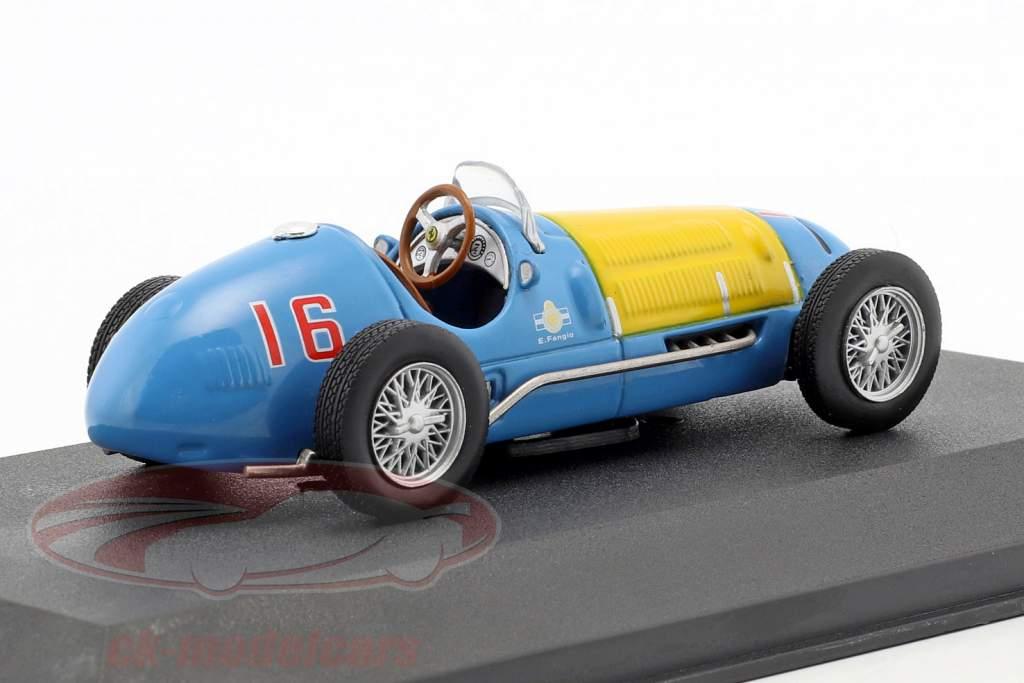 Juan Manuel Fangio Ferrari 166FL #16 Formel 1 1949 1:43 Atlas