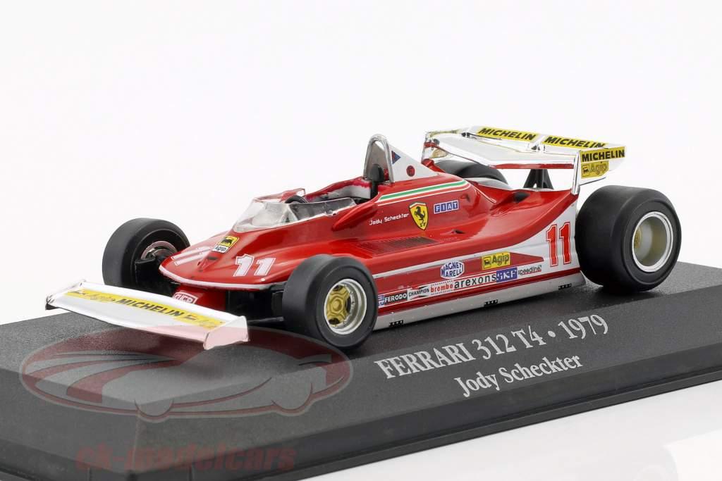 Jody Scheckter Ferrari 312 T4 #11 Weltmeister Formel 1 1979 1:43 Atlas