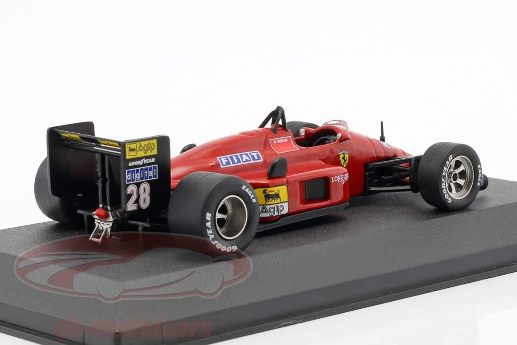 Gerhard Berger Ferrari F1 87 #28 formule 1 1987 1:43 Atlas