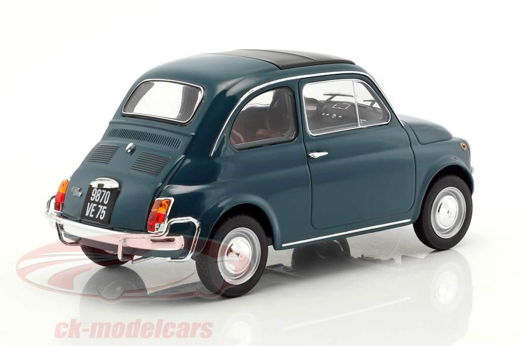 Fiat 500 L Baujahr 1968 dunkeltürkis 1:18 Norev