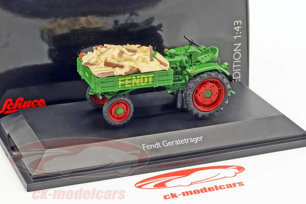 Fendt equipment rack Scheitholz green 1:43 Schuco