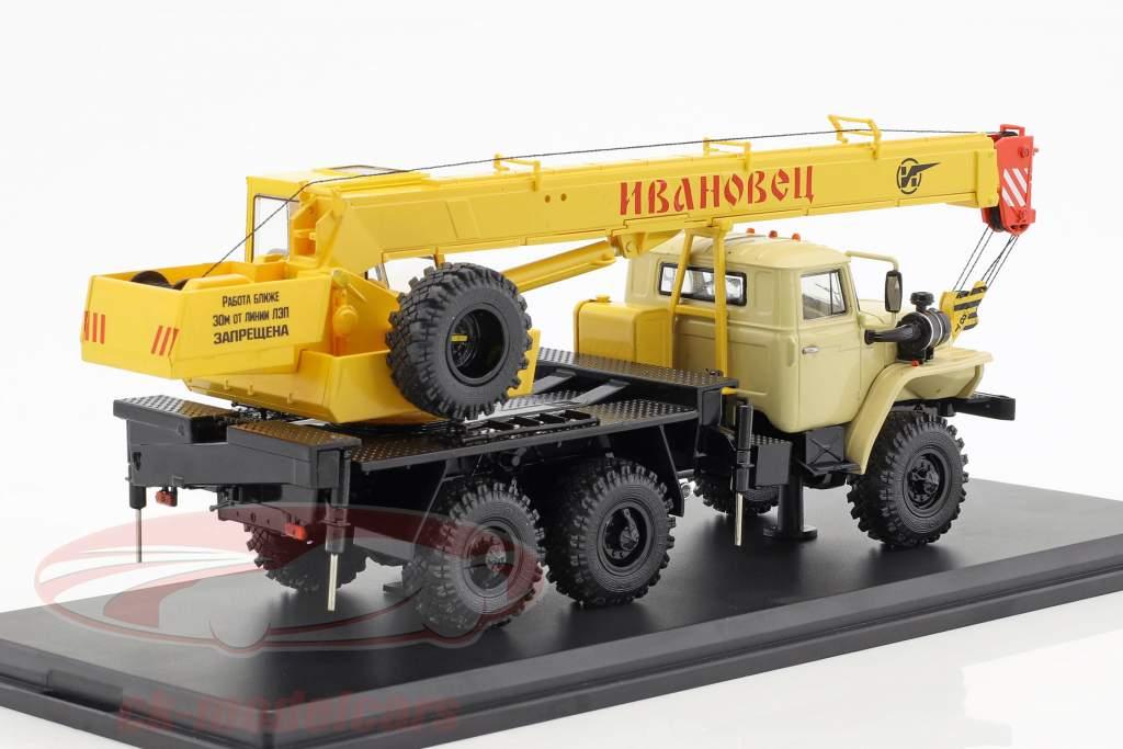 Ural 4320 gru osare giallo 1:43 PremiumClassiXXs