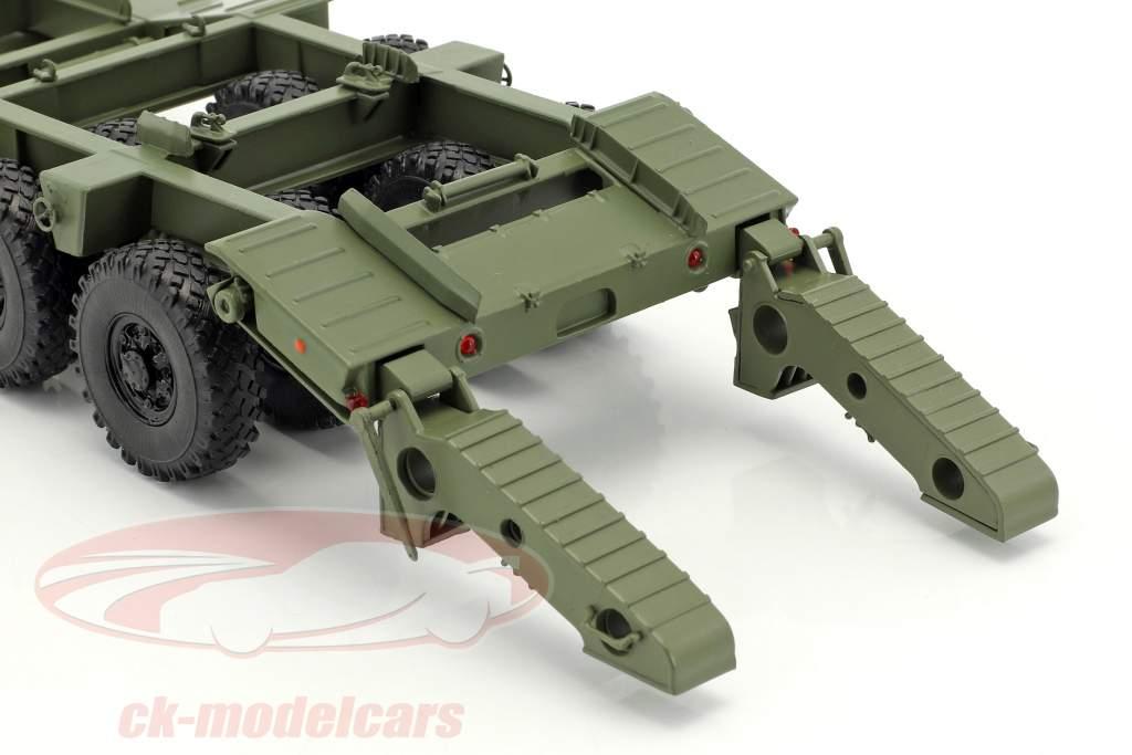 MAZ 537 NVA low loader semitrailer olive green 1:43 PremiumClassiXXs