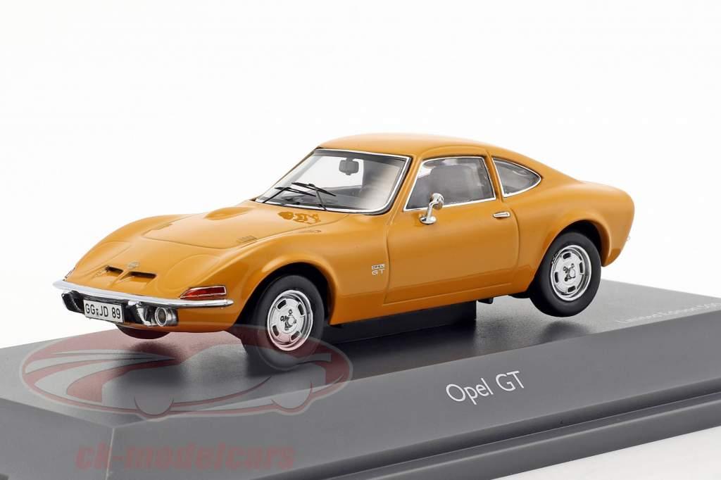Opel GT orange 1:43 Schuco