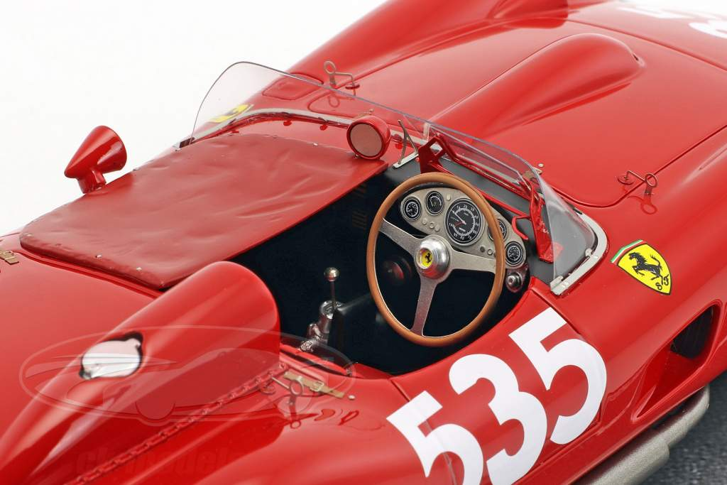 Ferrari 315 S #535 vincitore Mille Miglia 1957 Piero Taruffi 1:18 BBR